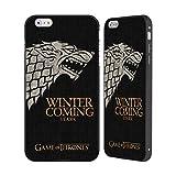 fd4da3c17d5 Official HBO Game of Thrones Stark House Mottos Black Aluminium Bumper  Slider Case for Apple iPhone 6 Plus / 6s Plus