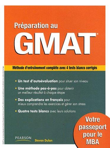 Préparation au GMAT par Steve Dulan