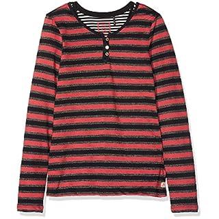 Scotch & Soda R´Belle Mädchen T-Shirt 2-in-1 Style: Long Sleeve Lurex with Inner Tank, Mehrfarbig (Combo A 217), 152 (Herstellergröße: 12)