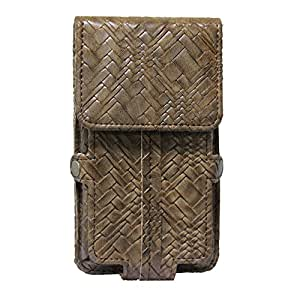 Jo Jo A6 Bali Series Leather Pouch Holster Case For XOLO LT900 BRown