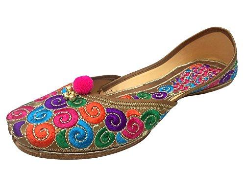 Étape N Sexy Travail De Fil De Style De La Peau Chaussures Jutti, Couleur Multicolore, Taille 36