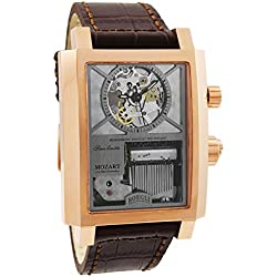 "Boegli Grand Festival Mozart ""The Magic Flute"" Rose Gold Manual Wound Men's Watch M.802"
