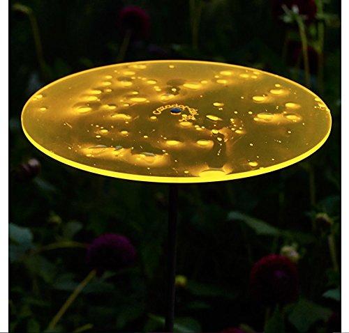 Cazador-del-sol ® | Uno | Sonnenfänger gelb, Durchmesser 20 cm, 1,75 Meter hoch – das Original - 4