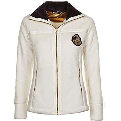 Peak Mountain - chaqueta de lana mujer ALTINA blanco