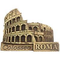 Weekinglo Souvenir Imán de Nevera Coliseo Roma Italia 3D Artesanía De Madera Hecho A Mano Turística