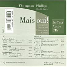 Thompson's Mais Oui!: In-text Audio Cd