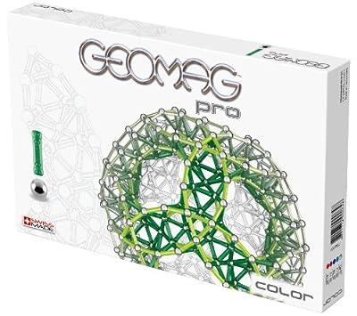 Geomag 64 Pro Color - Juego magnético de 100 piezas [Importado de Alemania] de Geomag