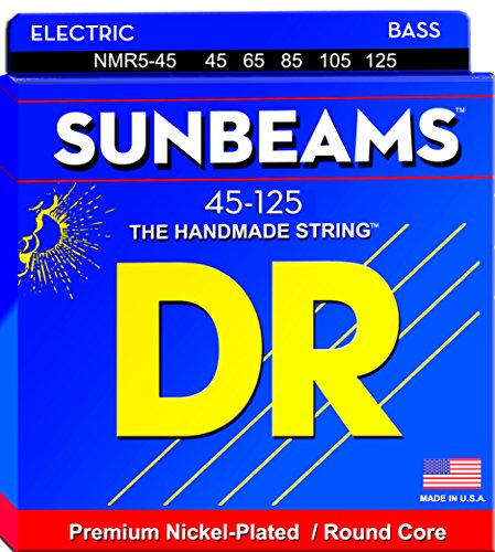 DR B SUNB NMR5   45 SUNBEAM MEDIUM CUERDAS (5 CUERDAS)