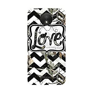 Camphor Motorola Moto C Plus Printed Mobile Back Cover