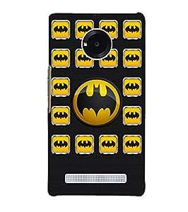 Citydreamz Batman Logo Hard Polycarbonate Designer Back Case Cover For Micromax YU Yuphoria 5010