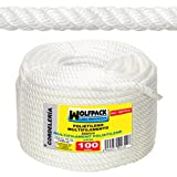 WOLFPACK 16010205 Cuerda Polipropileno Multifilamento (Rollo 100mt)    6mm.