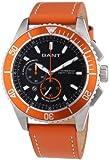 GANT Herren-Armbanduhr XL Seabrook Chrono Analog Quarz Leder W70545