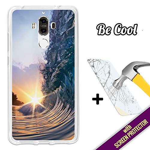 7954a133179 Becool® - Funda Gel Flexible para Huawei Mate 9, [ +1 Protector Cristal