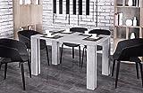 Endo Esstisch Endo Nisa 215 ausziehbar erweiterbar Küchentisch Esszimmertisch Tisch // Beton-Optik