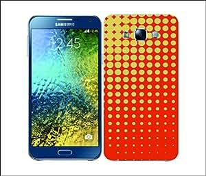 Galaxy Printed 2133 Halftones Grey Hard Cover for Samsung A3