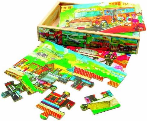 Bino Bino Bino - 88014 - Boîte de puzzle - Véhicule | Approvisionnement Suffisant  002937