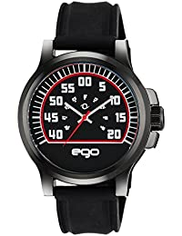 Ego by Maxima Analog Black Dial Men's Watch - E-01175PAGB