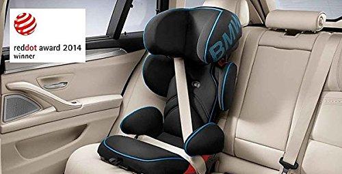 Preisvergleich Produktbild Original BMW Junior Seat 2/3 /Kindersitz 2/3 - Schwarz-Blau