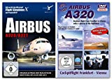BUNDLE -- Airbus A320 / A321 - für Flight Simulator X & Prepar3D (V2) - & - DVD: Lufthansa Airbus A320 - Frankfurt - Wien in Echtzeit