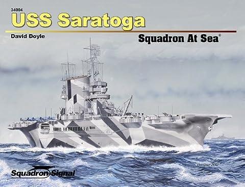 Uss Saratoga Squadron at Sea