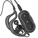 Aerb 4 GB Lettore MP3 impermeabile Music Stream Player per Nuoto Surf Sport acquatici Correre & altri sport (nero,IPX-8 standard)
