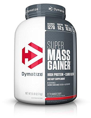 Super Mass Gainer 6 lbs (2721g) Fragola - 51e6qo pM%2BL