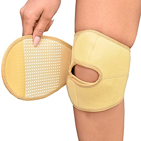 Medipaq® Infra-Red Ceramic Neoprene Knee Pad (MEDIUM) - Warms, Soothes & Supports