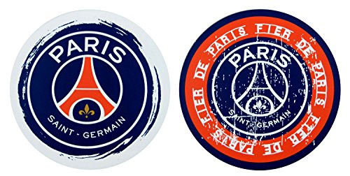2 x sous-bock Dessous de verre PSG - Collection officielle PARIS SAINT GERMAIN