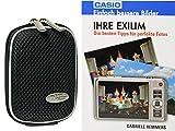 Foto Kamera Tasche MAYBOX black plus Foto-Handbuch Ihre Exilim von Casio