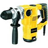 Stanley 32mm 1250-Watt 3 Mode L-Shape SDS-Plus Hammer with Kitbox (Yellow and Black)