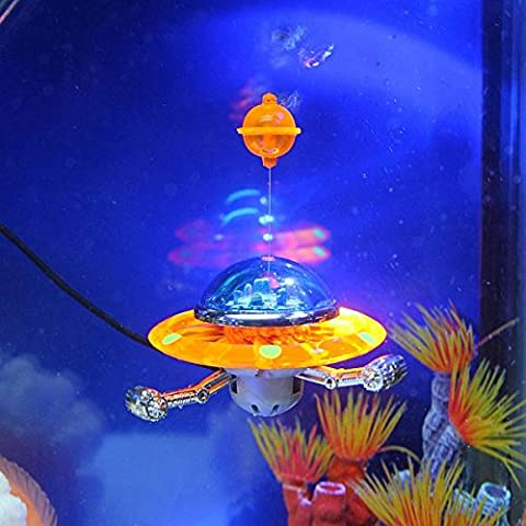 Decorazione Acquario Azione -Air Aquarium Ornament UFO