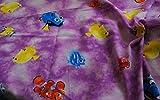 100% Baumwolle Material Disney Findet Nemo/Dory - Violett -
