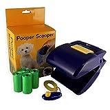 Best pooper Scoopers - Dog Pooper scooper con integrato Poop bag dispenser Review