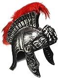 Widmann 03613 Römischer Helm im antiken für Erwachsene, Silber