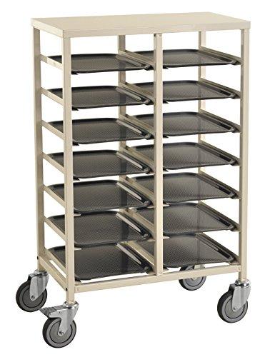 Tablettwagen für 14 Tabletts mit der Abmessung 400x300mm