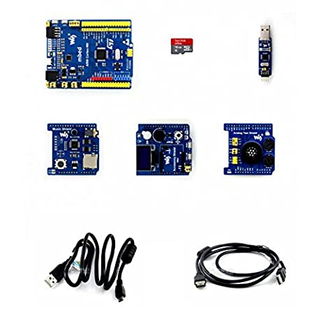 Venel Electronic Component, Xnucleo-F030R8 Package B, Development Kit, Comes With Common Used Peripheral Shields, OLED, RTC, AD/DA, Audio Codec, Accessory Shield, Analog Test Shield and Music Shield