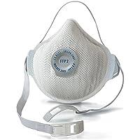 """Moldex 3305""""Air Plus máscara respiratoria FFP2R D con válvula de aire–blanco (5piezas)"""