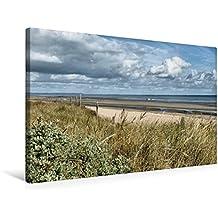 Premium Textil-Leinwand 75 cm x 50 cm quer, Utah Beach | Wandbild, Bild auf Keilrahmen, Fertigbild auf echter Leinwand, Leinwanddruck (CALVENDO Orte)