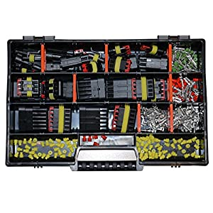 AMP Superseal Starter Set 1-polig bis 6-polig Sortiment Box Kasten Steckverbinder Elektrik KFZ