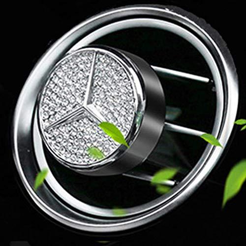 VILLSION Auto Logo Deodorante Vent Clip Fragranza Profumo Deodorante per Mercedes Benz con Confezione Regalo