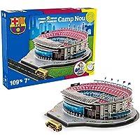 Estadio Camp NOU LED Edition (FC Barcelona) - Nanostad - Puzzle 3D (Producto Oficial Licenciado)
