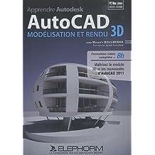 Apprendre Autodesk AutoCAD - Modélisation et rendu 3D (Mounir Boulmerka)