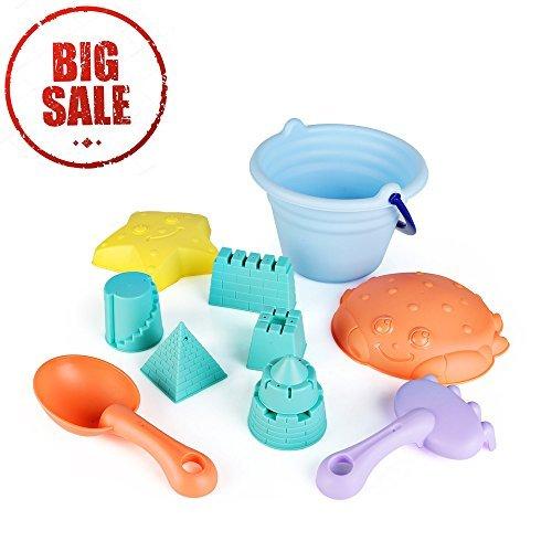 SainSmart Jr. 11 Juguetes Ligeros de plástico elástico para la Arena, Equipo básico de Cubo y moldes...