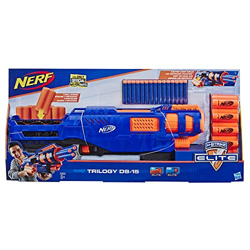 Nerf- Elite Trilogy Ds 15 (Hasbro E2853EU4)