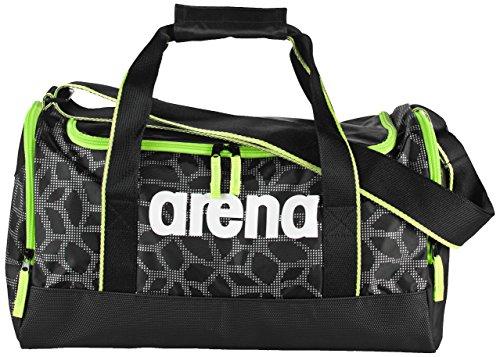 Arena Spiky 2 Small, Borsa Sportiva Unisex - Adulto, Nero X/Pivot/Fluo Verde, Taglia Unica