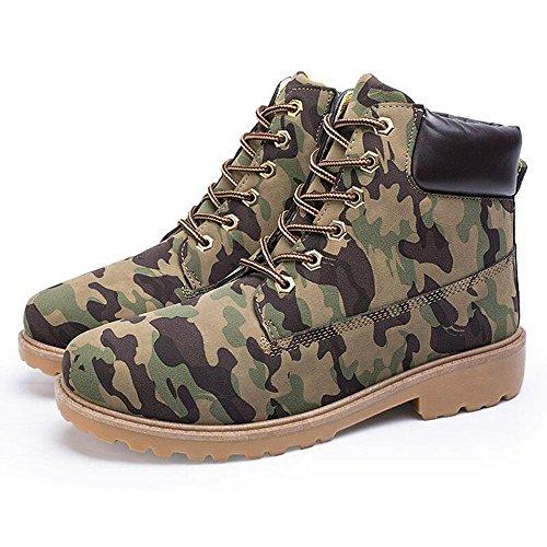 Uomo Chukka Boots Outdoor Stivaletti - Juleya Scarpe Uomo Casual Stivali Boots Martin Stivali camuffamento
