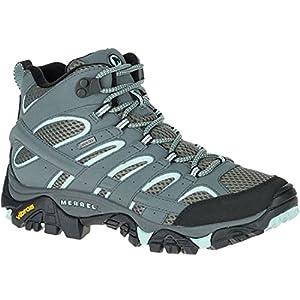 51e6ymKgb1L. SS300  - Merrell Women's Moab 2 Mid Gtx High Rise Hiking Shoes