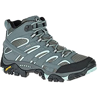 Merrell Women's Moab 2 Mid GTX High Rise Hiking Boots 9