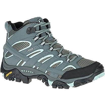 Merrell Women's Moab 2 Mid GTX High Rise Hiking Boots 1