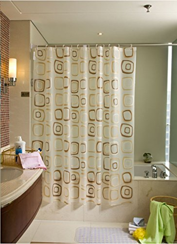 likeyou-peva-fabric-shower-curtain-variable-square-pattern-bathroom-accessories-waterproof-and-milde